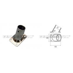 base pulpito inox ret/inc 60° d22