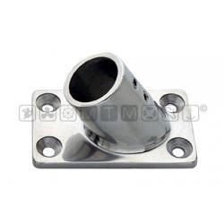 Base pulpito inox ret/inc 60° d25 pesante