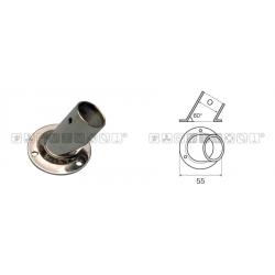 base pulpito inox ton/inc 60° d25