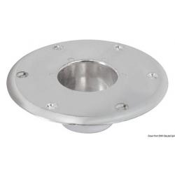 base ricambio per gamba tavolo in alluminio