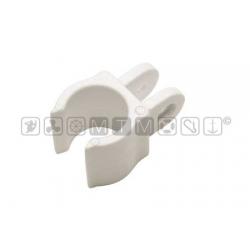 Basetta a clip in Plastica con attacco per tendalini.
