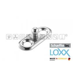 bottone maschio LOXX/TENAX + piastrina
