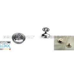 bottone maschio LOXX/TENAX attacco tessuto