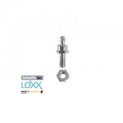 bottone maschio LOXX/TENAX con vite e dado