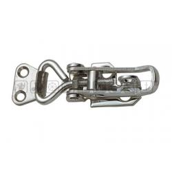 Chiusura porta lucchetto a leva regolabile 66--75mm in Acciaio Inox.
