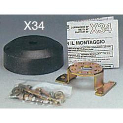 coprimozzo nero X34B