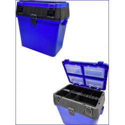 cassetta pesca panchetto SEAT BOX mis 39,5x24,5xH38cm
