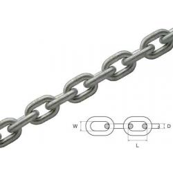catena calibrata d.6 zincata a caldo.