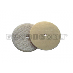 Dischetti Velcro per fissare tessuti e rivestimenti.Diam.45mmMaschio + femmina.