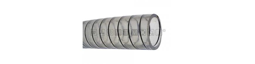 tubo spiralato per scarichi